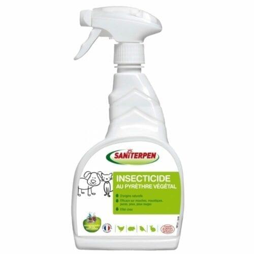 Saniterpen Insecticide écologique au pyrèthre végétal