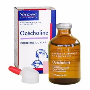 Océcholine du laboratoire Virbac est un aliment complémentaire qui contribue à limiter les infiltrations de graisses au niveau du foie.