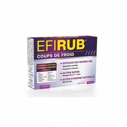 EFIRUB COUPS FROID SACHET BTE 16
