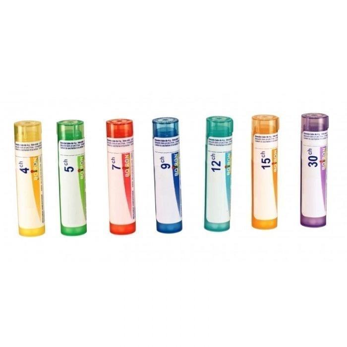 Médicament homéopathique en tubes granules de 4 g. Apis mellifica de Boiron.
